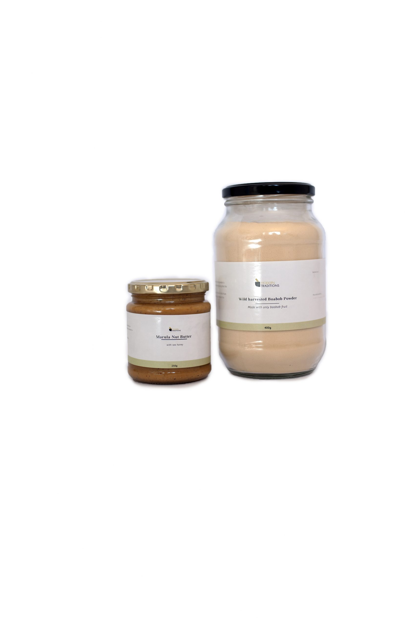 Marula Nut Butter and Baobab Powder Combo